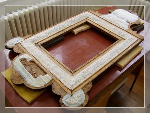 conservation of the mirror frame